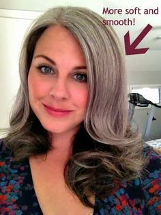 How Bourgeois: Hair Glaze for Your Grays! And a Little Holiday Organizational Tip Too. #gray hair