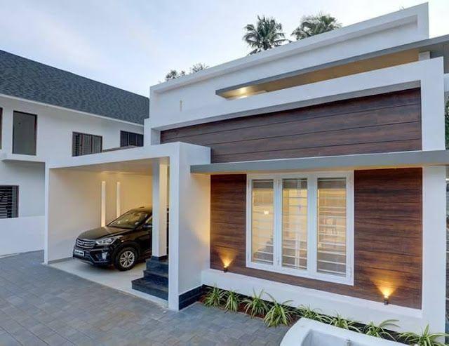 Minimalist Contemporary 3 Bedroom Luxury Kerala Home In 42 Lakhs