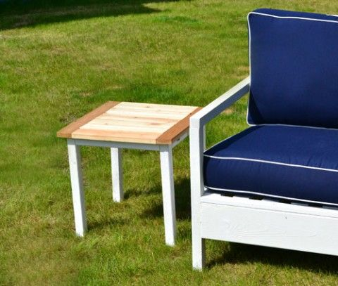 + best ideas about Outdoor end tables on Pinterest  Pallet