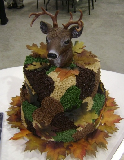 Camouflage cake By kiminycricket on CakeCentral.com