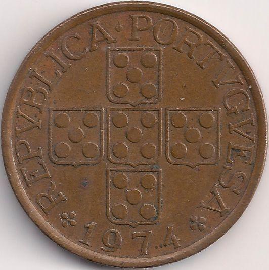 Motivseite: Münze-Europa-Südeuropa-Portugal-Escudo-0.50-1969-1979