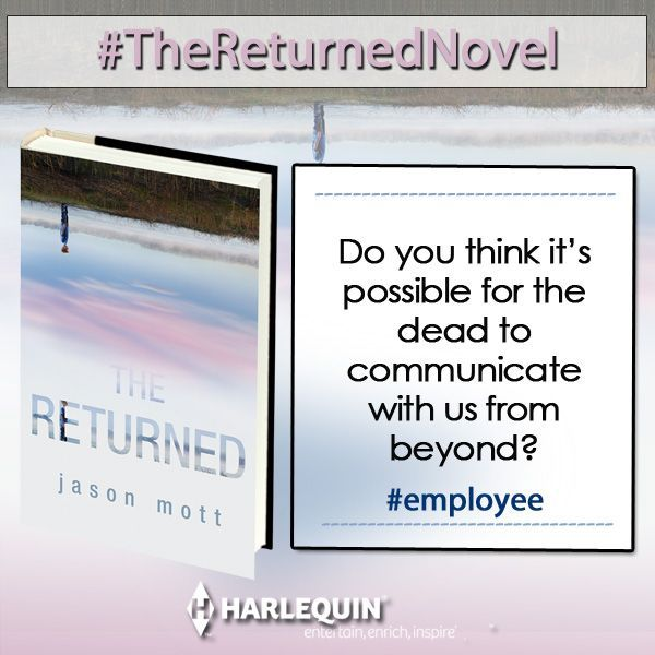 Release day for #TheReturned!