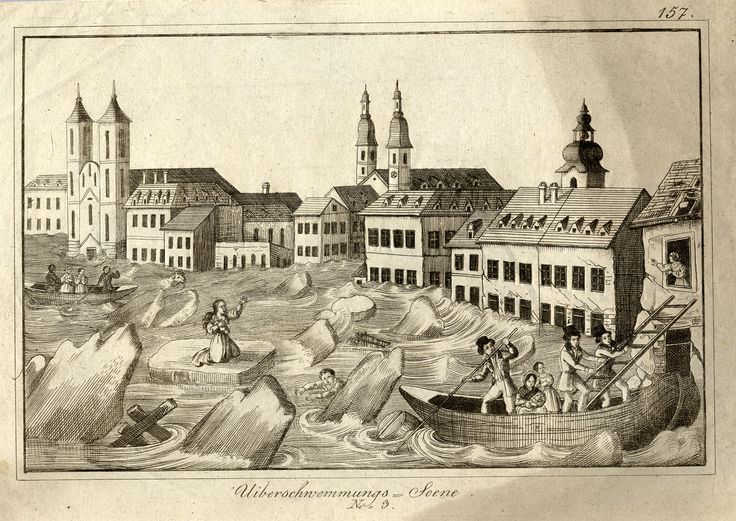 the great flood of Pest 1838