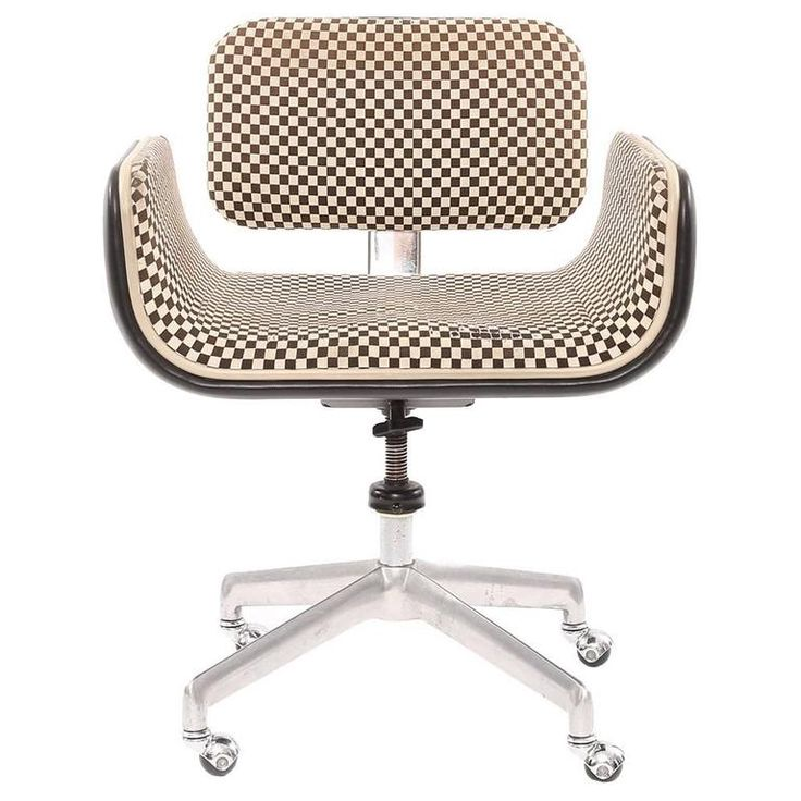 Rare All Original Alexander Girard Herman Miller Office Chair ca.1967
