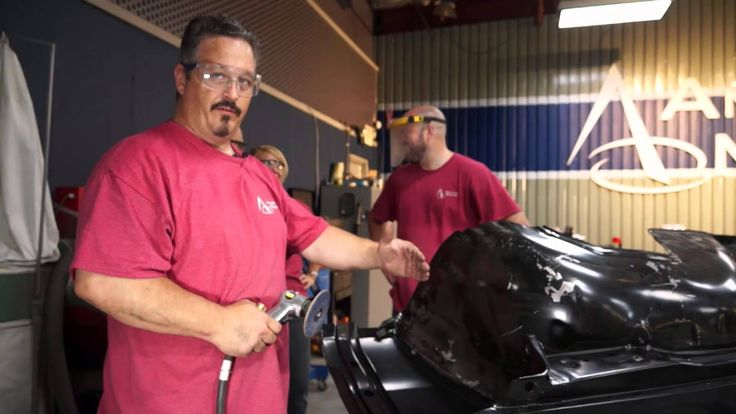 American Modern's The Build team, with help from National Corvette Museum Insurance Agency's Adam Boca, are working on fitting the inner fender wells on the 1965 Chevy Malibu SS. Enjoy! Be sure to follow along on Facebook: https://www.facebook.com/AmericanModernCollectorCar @American Modern Insurance Group
