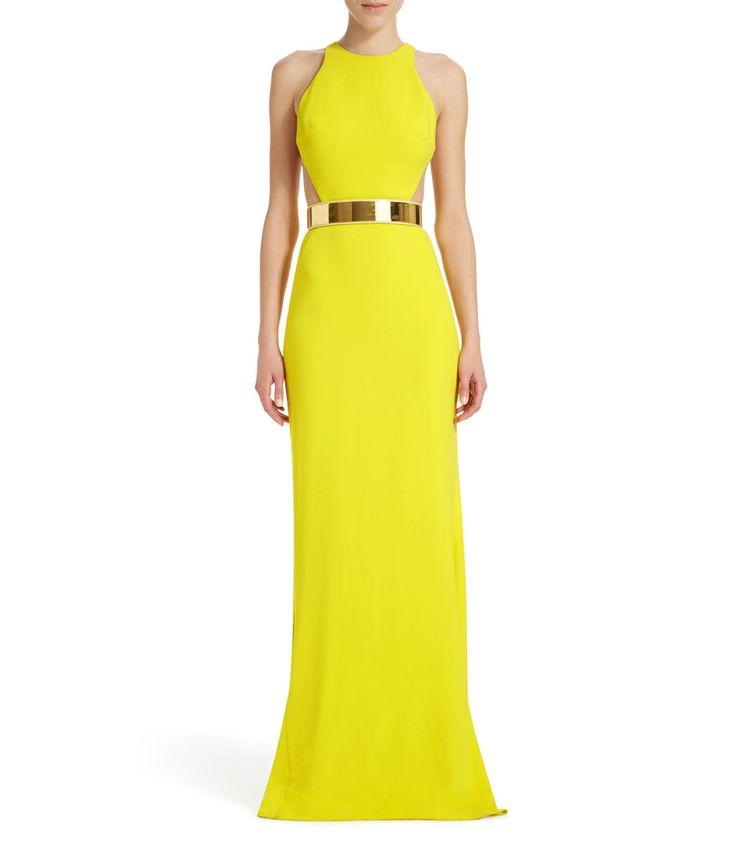 Stella McCartney Saskia Dress - Yellow Gown - ShopBAZAAR