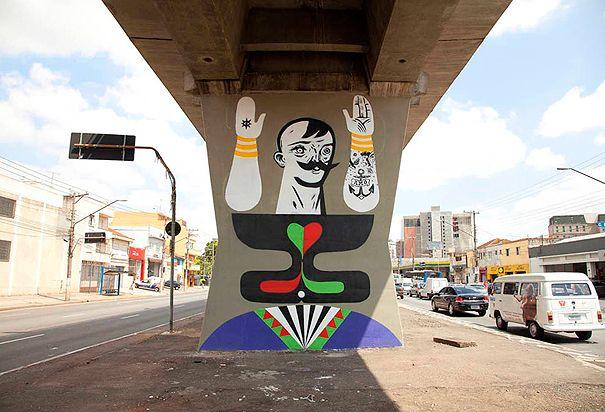 Multi-Wear Wrap - Sao Paulo streets by VIDA VIDA yYFd4KLOg