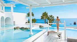 #MykonosBlu | #LuxuryhotelMykonos, #LuxuryResortMykonos  #PsarouBeach