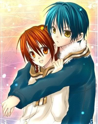 78 best ideas about anime couples hugging on pinterest - Anime hug pics ...
