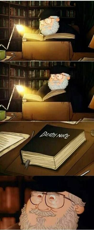 george r. r. martin is actually raito yagami of death note.