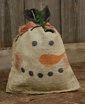 285 best burlap crafts images on pinterest hessian for Burlap bag craft ideas