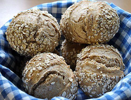 Dinkel-Vollkorn-Brötchen (Low Carb Breakfast Recipes)
