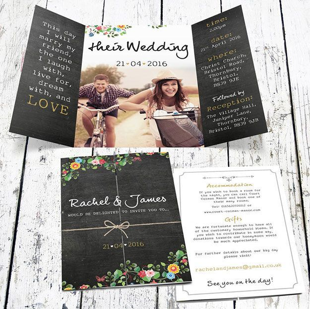 best 20+ bohemian wedding invitations ideas on pinterest | wedding, Wedding invitations
