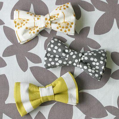 Boy's Bow-tie! Ledger : Lotta Jansdotter