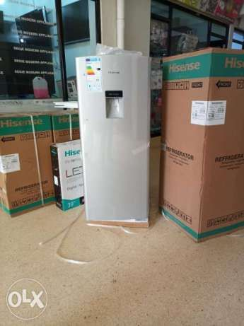 373f030f7a Brand new boxed energy saving very efficient hisense fridge with a  dispenser Comes with 3years warranty. Call or WhatsApp 700----5 Deliveries  around Kampala ...