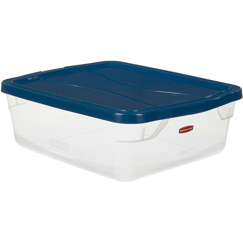 Rubbermaid Clever Store Clears Storage Container 15 Qt