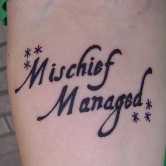 get a Harry Potter tattoo | Harry Potter...Always | Pinterest