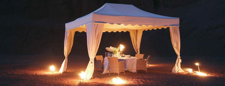 How about a romantic dinner? Our folding tents help you to create the ideal atmosphere...  http://www.mastertent.com/en/tents/royal/royal-27.html