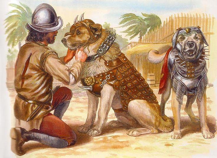 """La Pintura y la Guerra """"Perros de presa"""""""