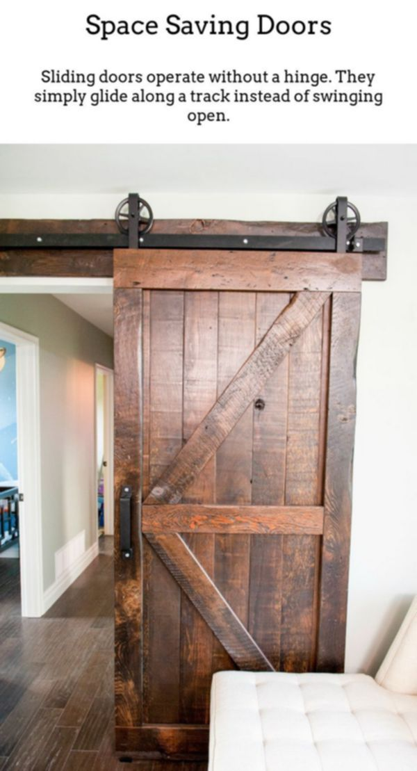 Sliding Doors Produce Unique Bright Rooms Via Thermally Insulated Sliding And Foldable Doorways Ide Barn Door Designs Interior Barn Doors Barn Doors Sliding