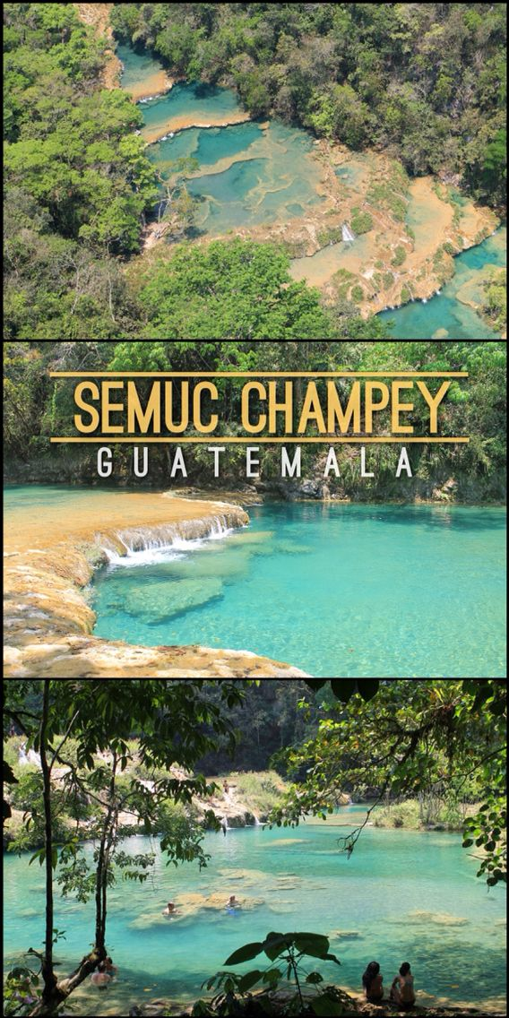 Semuc Champey - One of Guatemala's Best Natural Wonders  Read More: http://mismatchedpassports.com/2016/04/23/semuc-champey-off-the-beaten-track-guatemala/