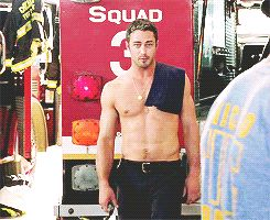 Pin for Later: 23 Times Taylor Kinney Was the Sexy Firefighter of Your Dreams Seriously, Though, Whenever He Was Shirtless