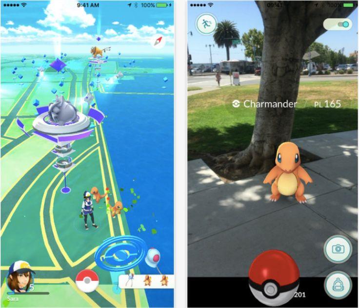 Pokémon Go commence à envahir les App Store !