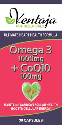 Ventaja Nutraceuticals OMEGA 3 + COQ10 100mg