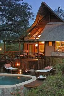Lukimbi Safari Lodge is a stunning luxury safari lodge situated in the easily accessible southern portion of the Kruger National Park, South Africa. Kruger is home to the Big Five and a wide variety of other animals and birds, which roam freely in their natural habitat.    Game drives with informative Rangers, are done on our private roads in open Landrovers. Alternatively, guests can take guided walks or relax in the magnificent lodge  Premier Suite Private Pool