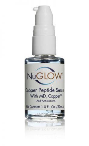 NuGlow® Copper Peptide Serum with MD3 Copper & Antioxidants