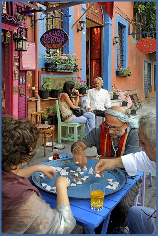 Street scene in Istanbul, Marmara_ Turkey