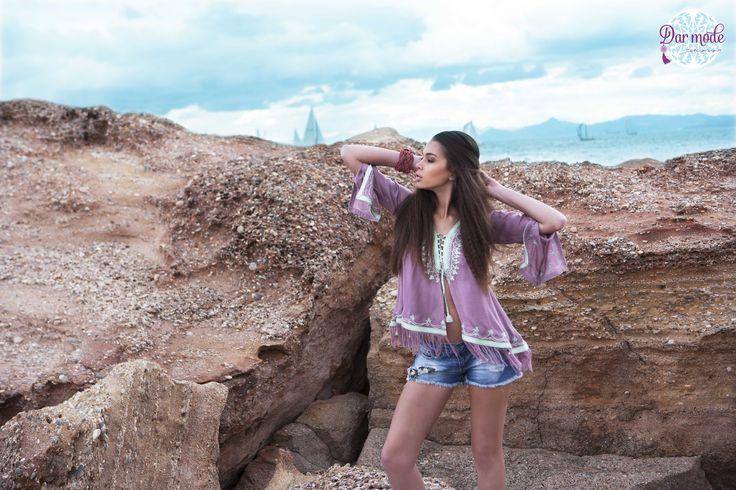 Top Rajaa・Salt in the air Sand in my hair lookbook