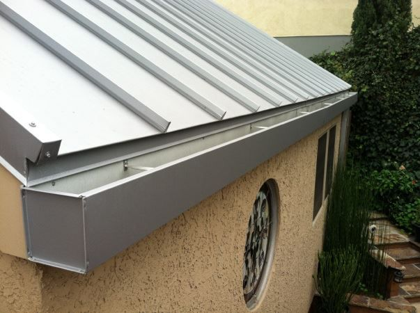 Metal Gutter In 2019 Patio Roof Metal Roof Metal