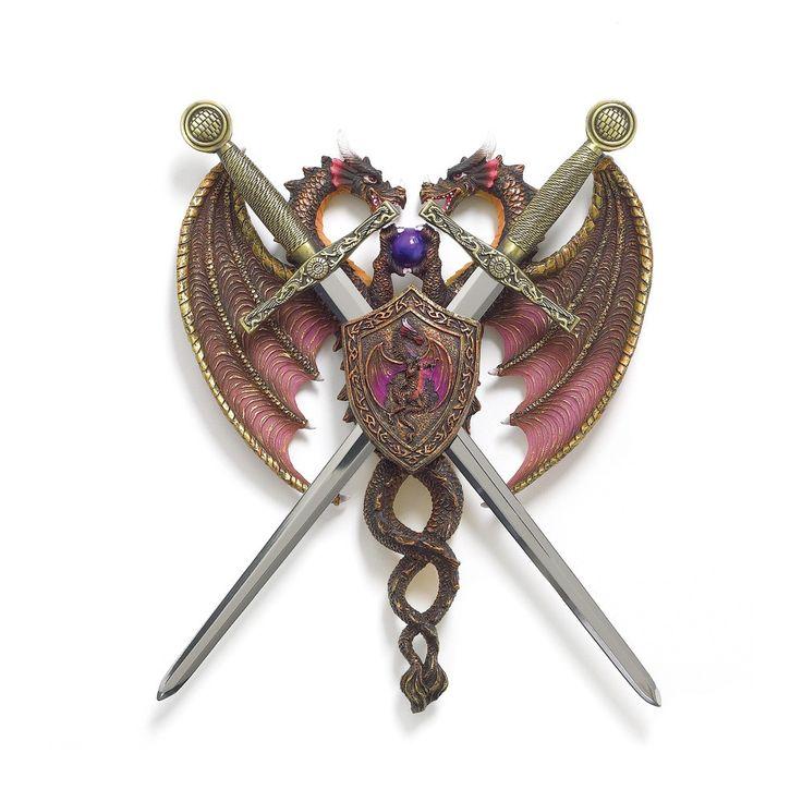 Sword U0026 Dragon Coat Of Arms