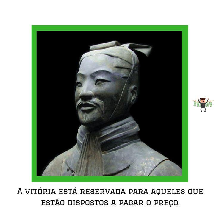 """Sun Tzu foi um general, estrategista e filósofo chinês. Sun Tzu é mais conhecido por sua obra A Arte da Guerra, composta por 13 capítulos de estratégias militares. 😱  -  E você, já leu o livro """" A Arte da Guerra ? O que achou ?"""