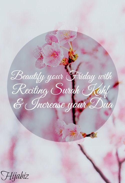Jumaah Mubarak everyoneee! Let's increase The Barakah in our friday by reciting Surah Al Kahf & more selawat & Dua!: