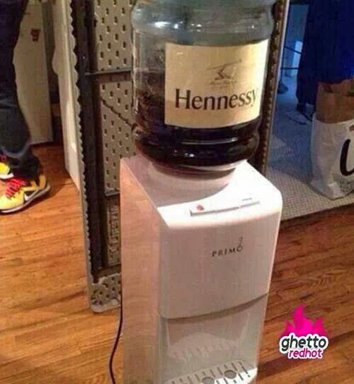 Hennessy Drink up...
