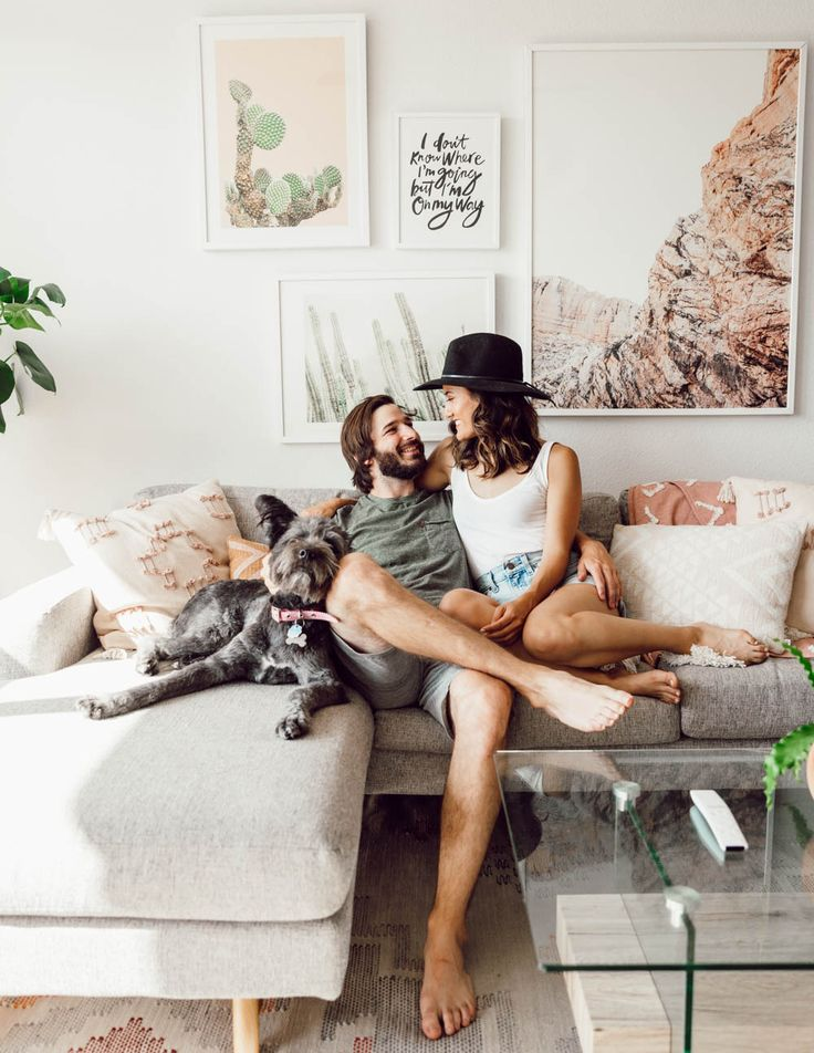 Design My Living Room Online: ATX Home Reveal Pt. 1: Our Minimal, High-Vibe Living Room