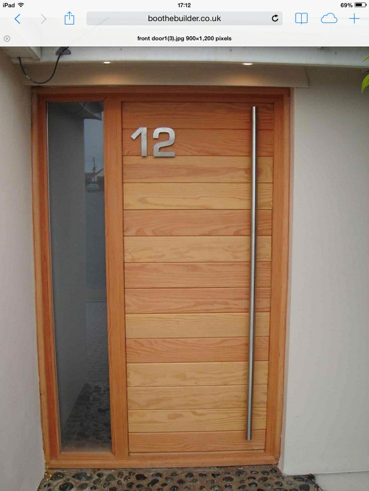 Front door ideas - simple, modern