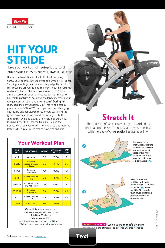 Cybex workout!  My gym just got some of these and I'm pumped!