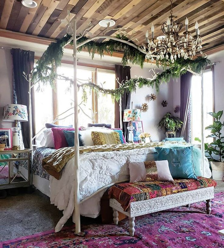17 Lively Shabby Chic Garden Designs That Will Relax And: How To Decorate Your Bedroom In Bohemian Style