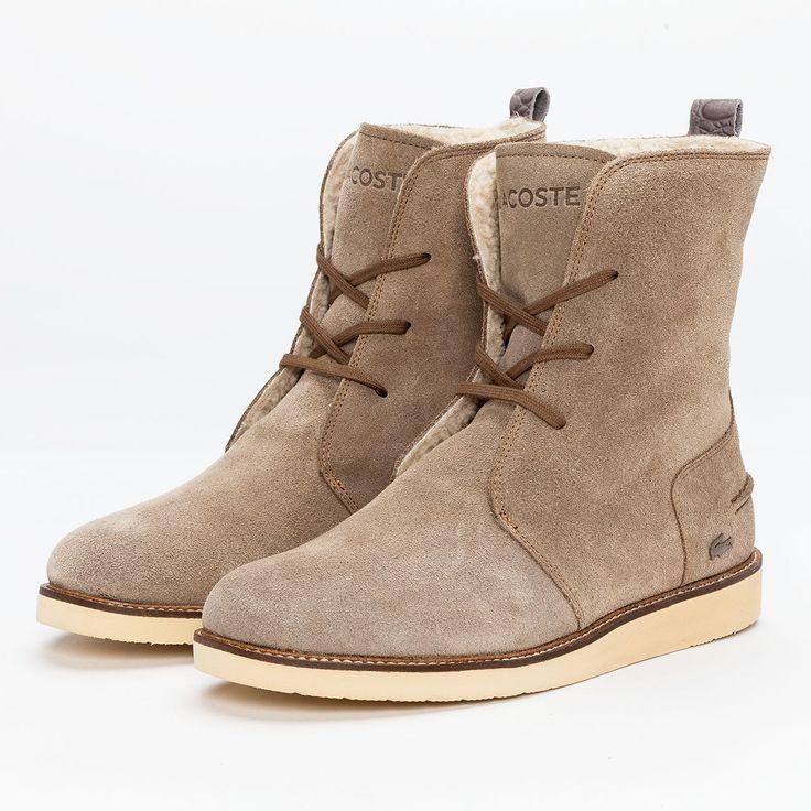 Lacoste Stiefel/Stiefeletten braun von Def-Shop.com