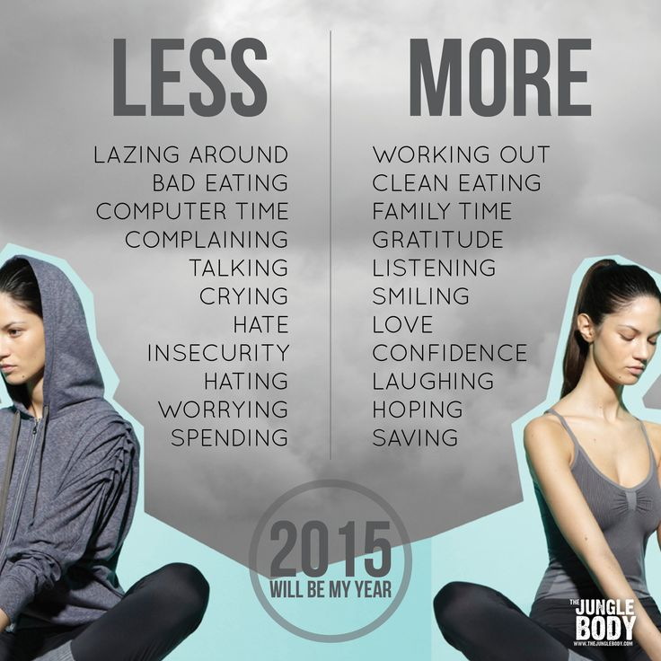 New Years 2015 Tumblr Less More