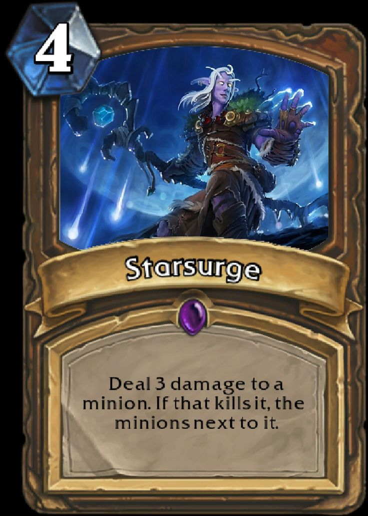 """Cast Moonfire, Cast Starsurge, Cast Moonfire, and never stop."" - How to Be a Druid, Chapter 5, Section 4"
