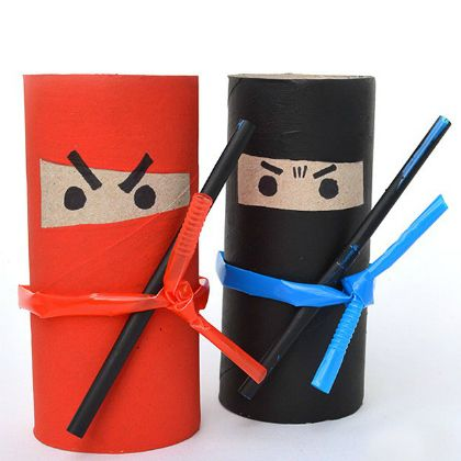 tp roll ninja craft