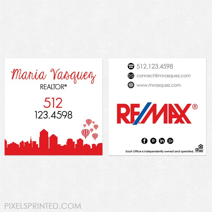 17 best ideas about realtor business cards on pinterest for Best remax business cards