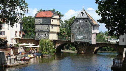 My favorite little town! I wanna go back so bad! Bad Kreuznach -- Rhineland/Germany
