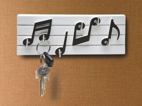 MUSIC NOTE KEY HOOKS