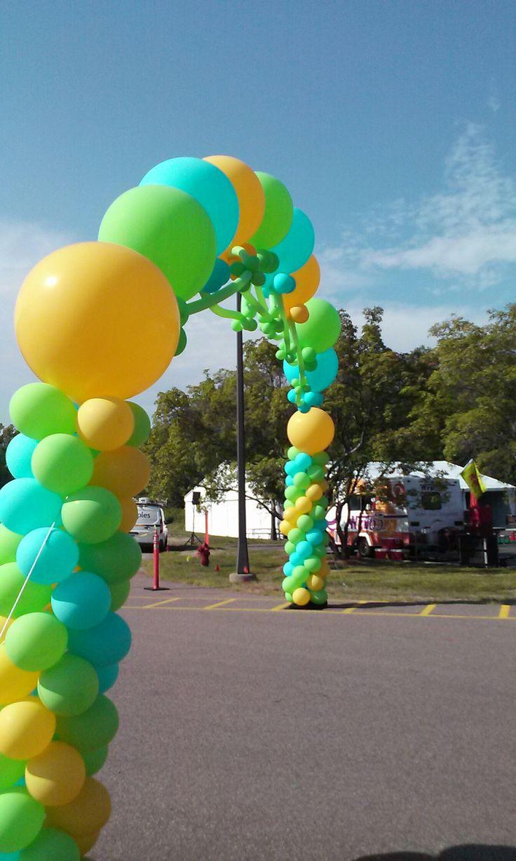 Big Balloons Balloon Arch Arches Large Balloons