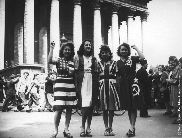 Photos Anciennes - L'année 1945 en photos - Partie 2 - Frawsy